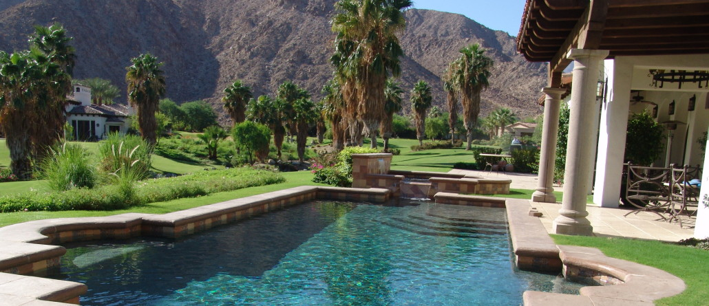 Pool construction palm springs pools spas la quinta - Palm springs swimming pool contractors ...