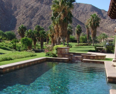 Pool Construction In Palm Springs
